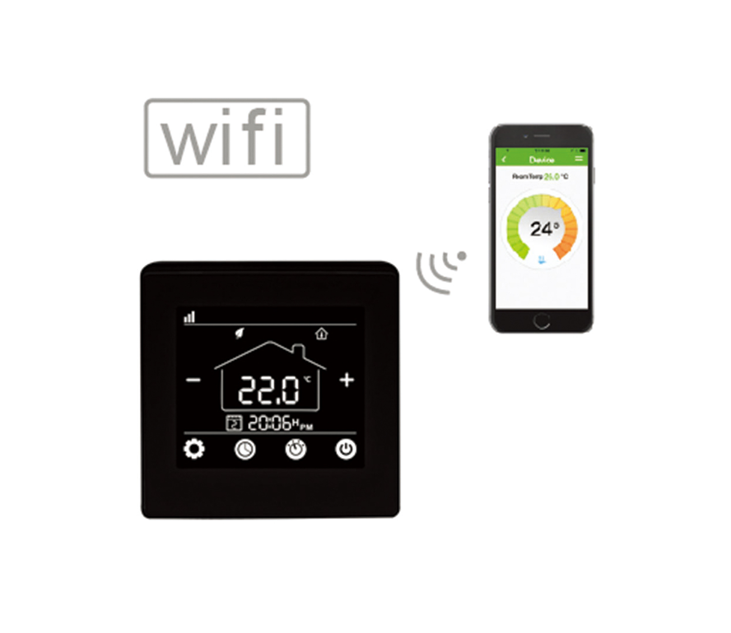 HT-09W Wifi Thermostat