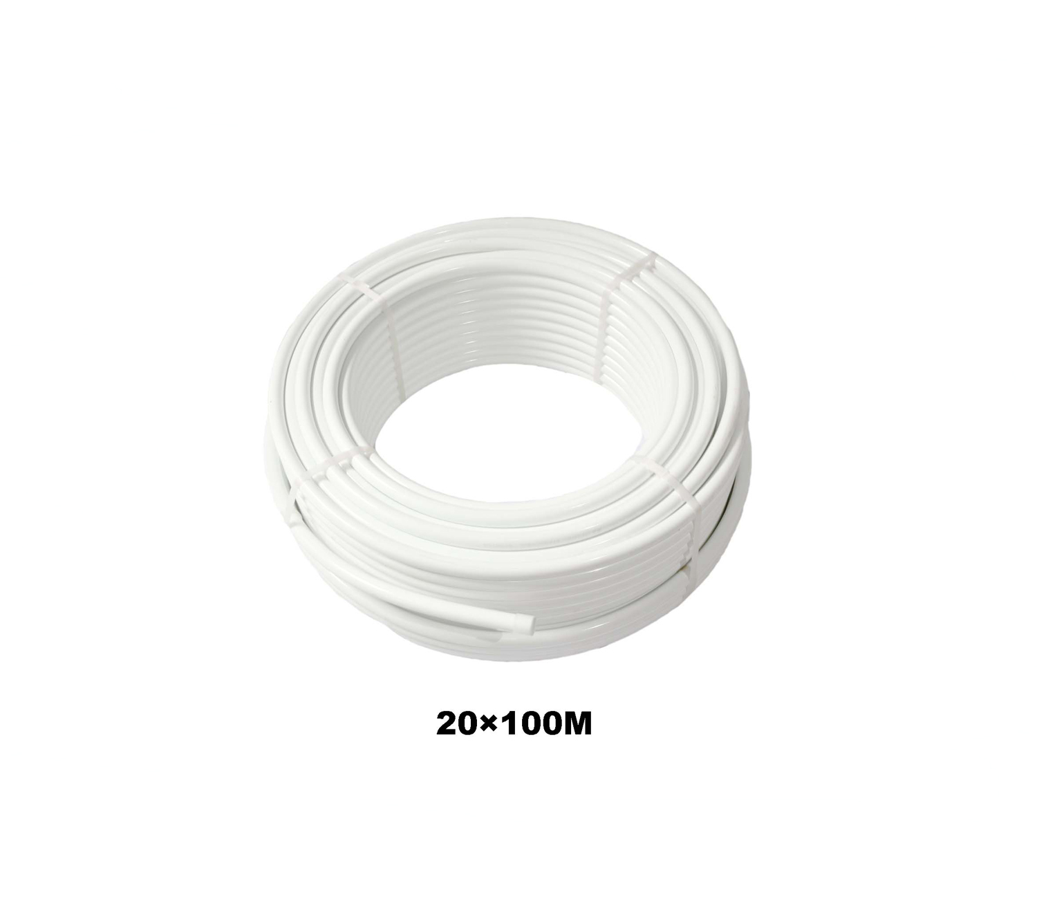 PEX-AL-PEX Multilayer Pipe 20×100M (White)