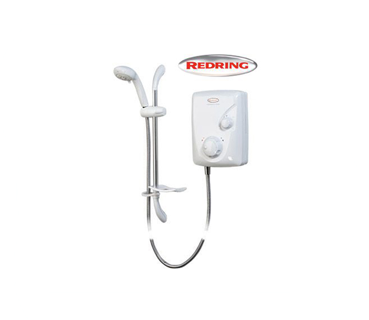 Redring Expressions 520TS Thermostatic Power Shower – White Color