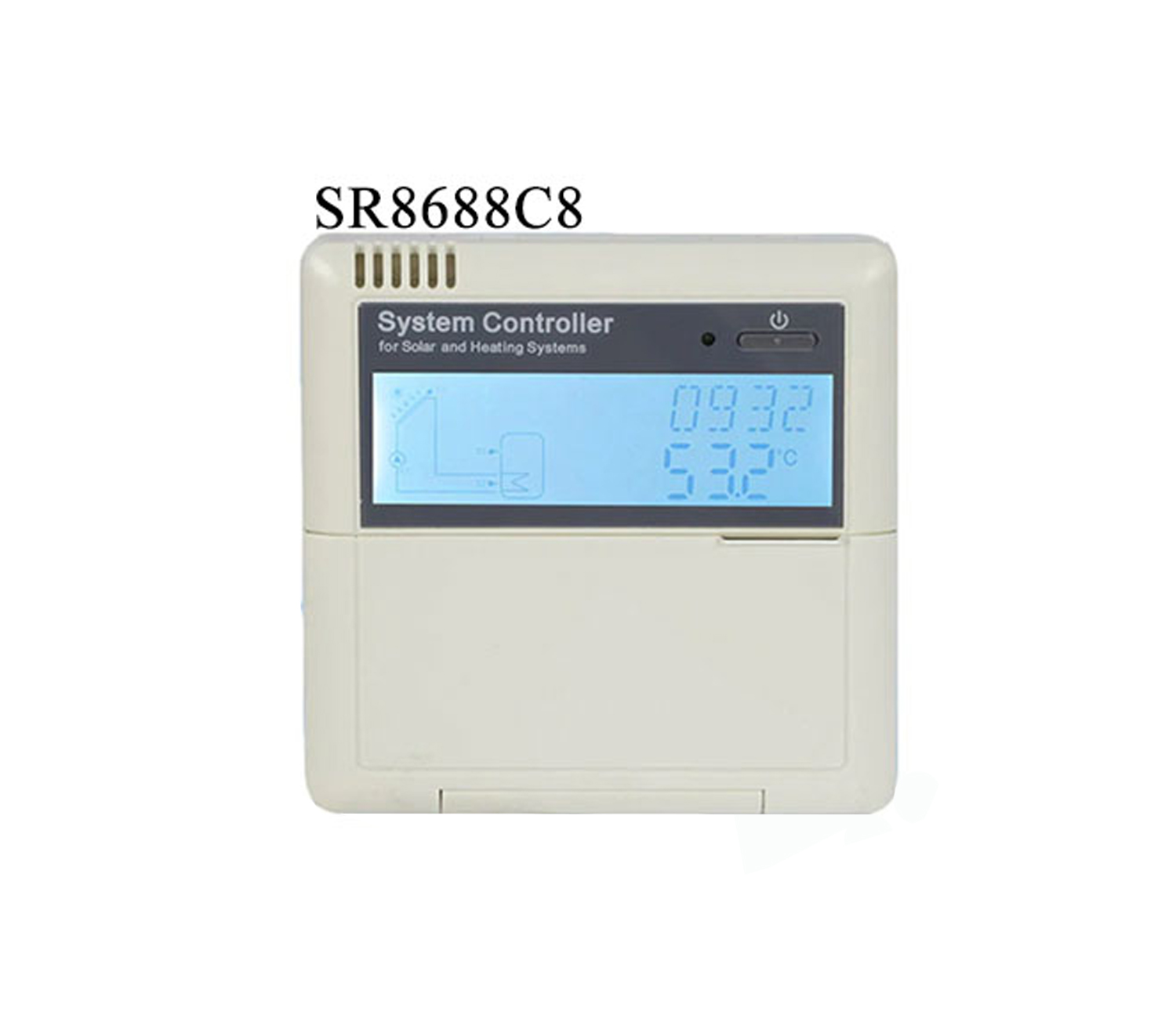 Solar hot water heater controller SR868C8