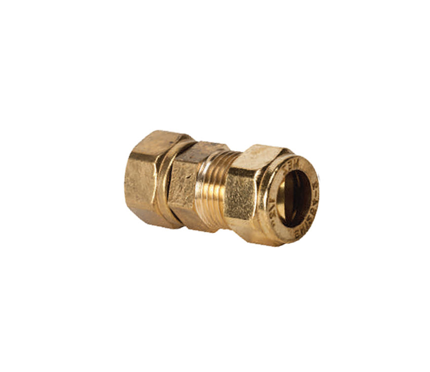 Straight Compression Swivel Coupler FI × C (3141)