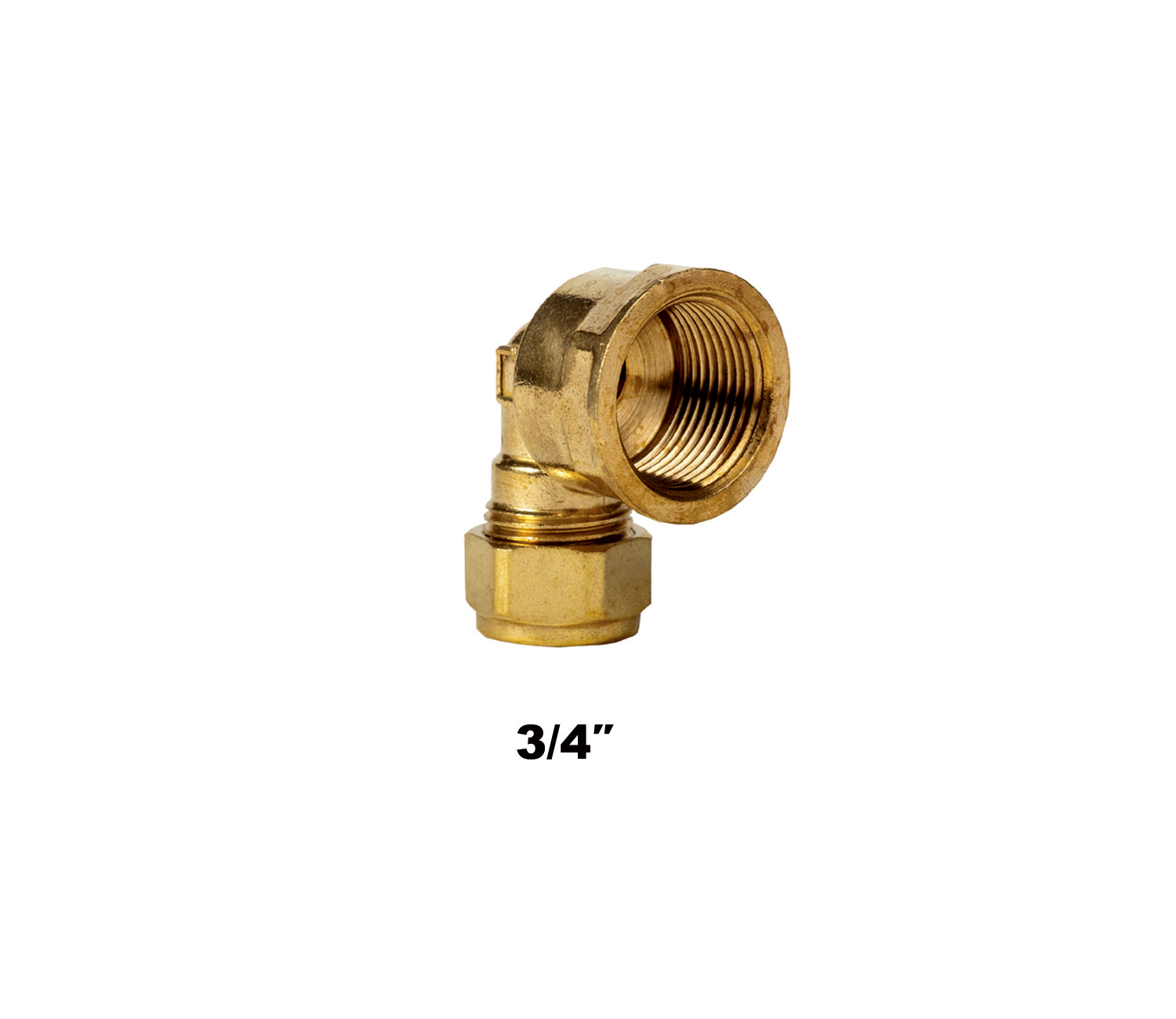 Compression Elbow FI X C 3/4″ (3172)