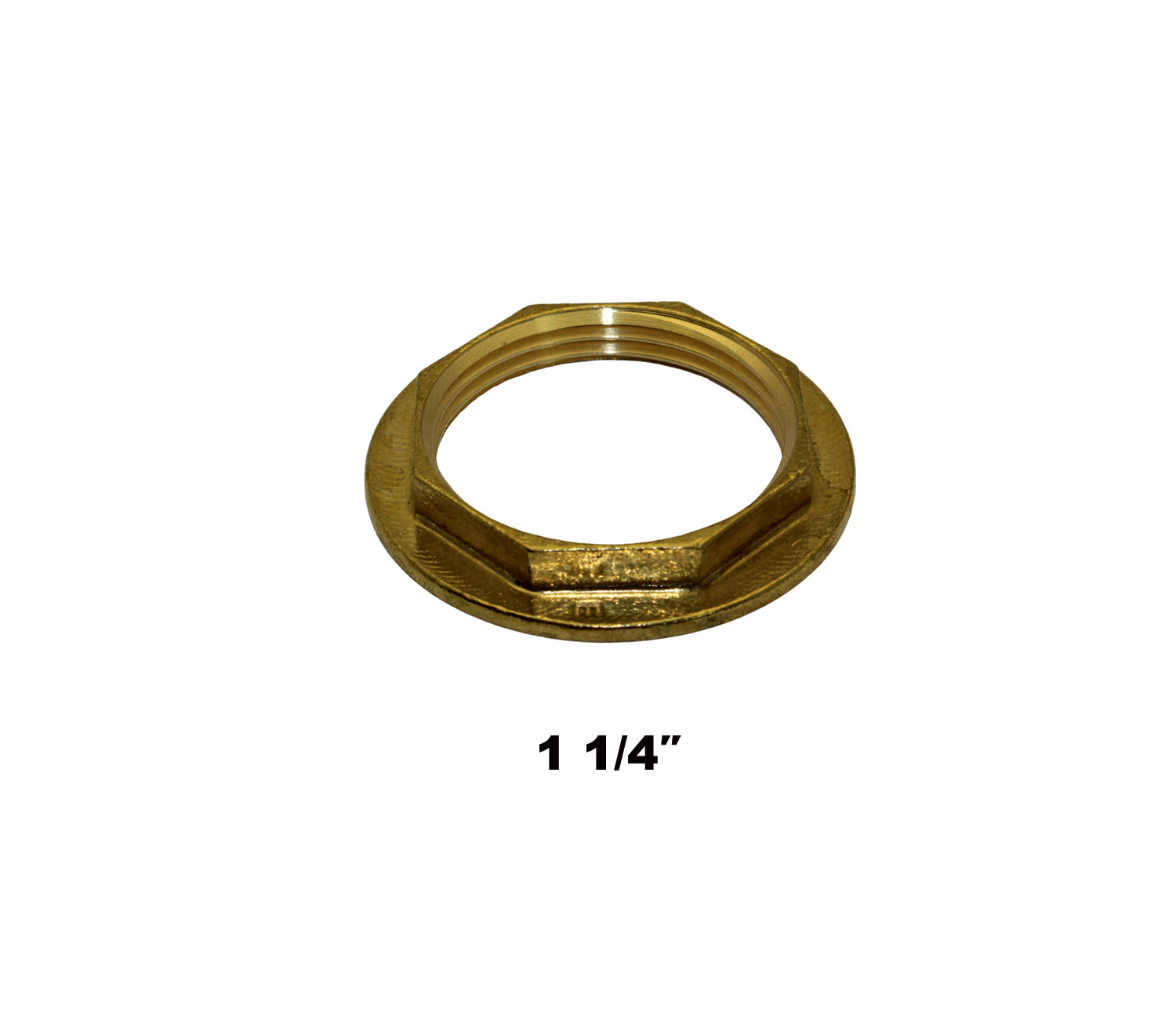 "Compression Flanged Back Nut 1 1/4"" (0444)"