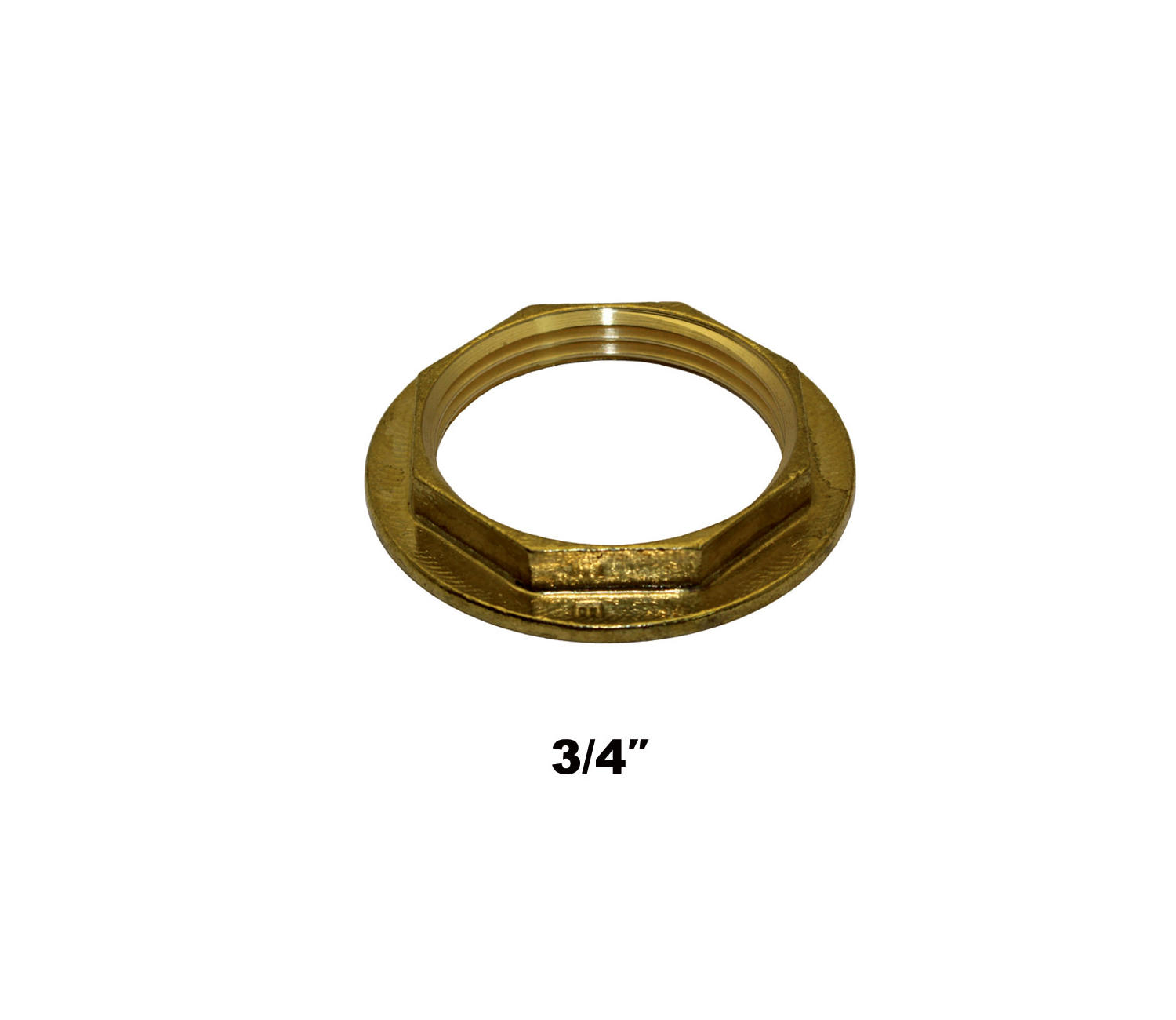 "Compression Flanged Back Nut 3/4"" (0442)"