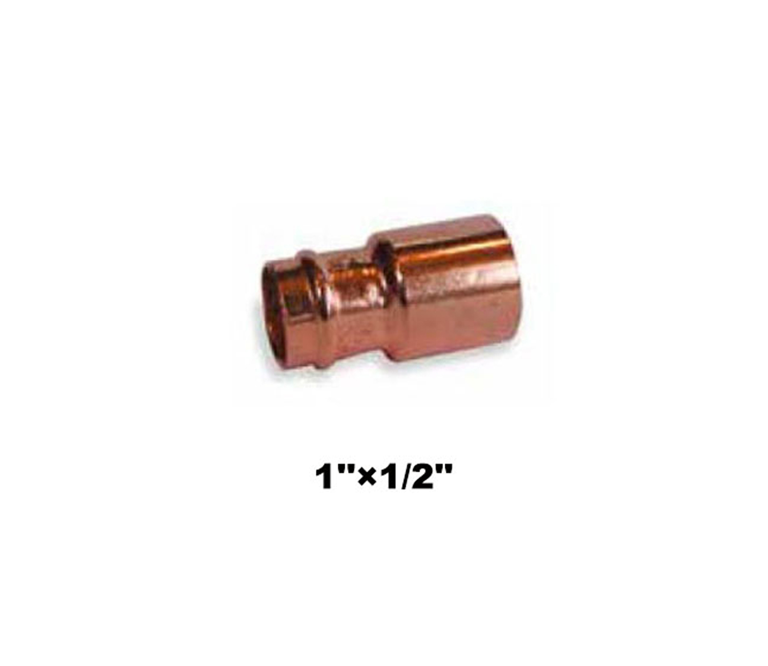 "Compression Fitting Reducer 1""×1/2"" (19031)"