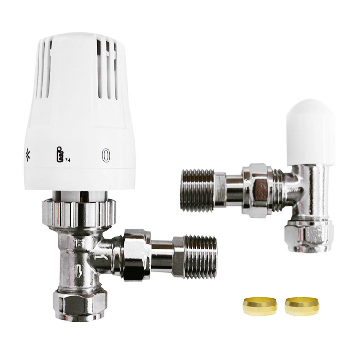 Thermostatic Radiator Valve Angled Connection-030C
