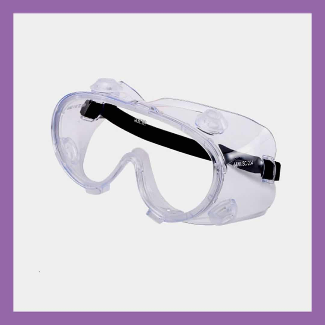 Medical Goggles- Fully-Enclosed Protection