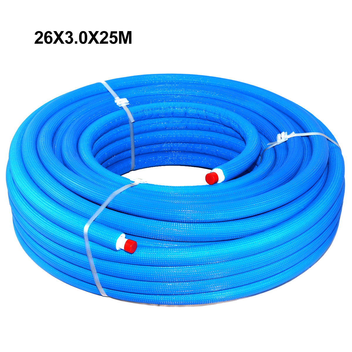 PEX-AL-PEX Multilayer Insulated Pipe Insulation Blue 26 x 3.0 × 25 m