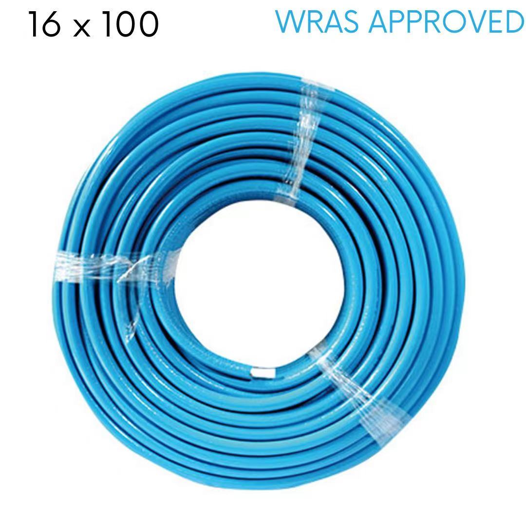 PEX-AL-PEX Insulated Multilayer Pipe 16×100M (Blue)