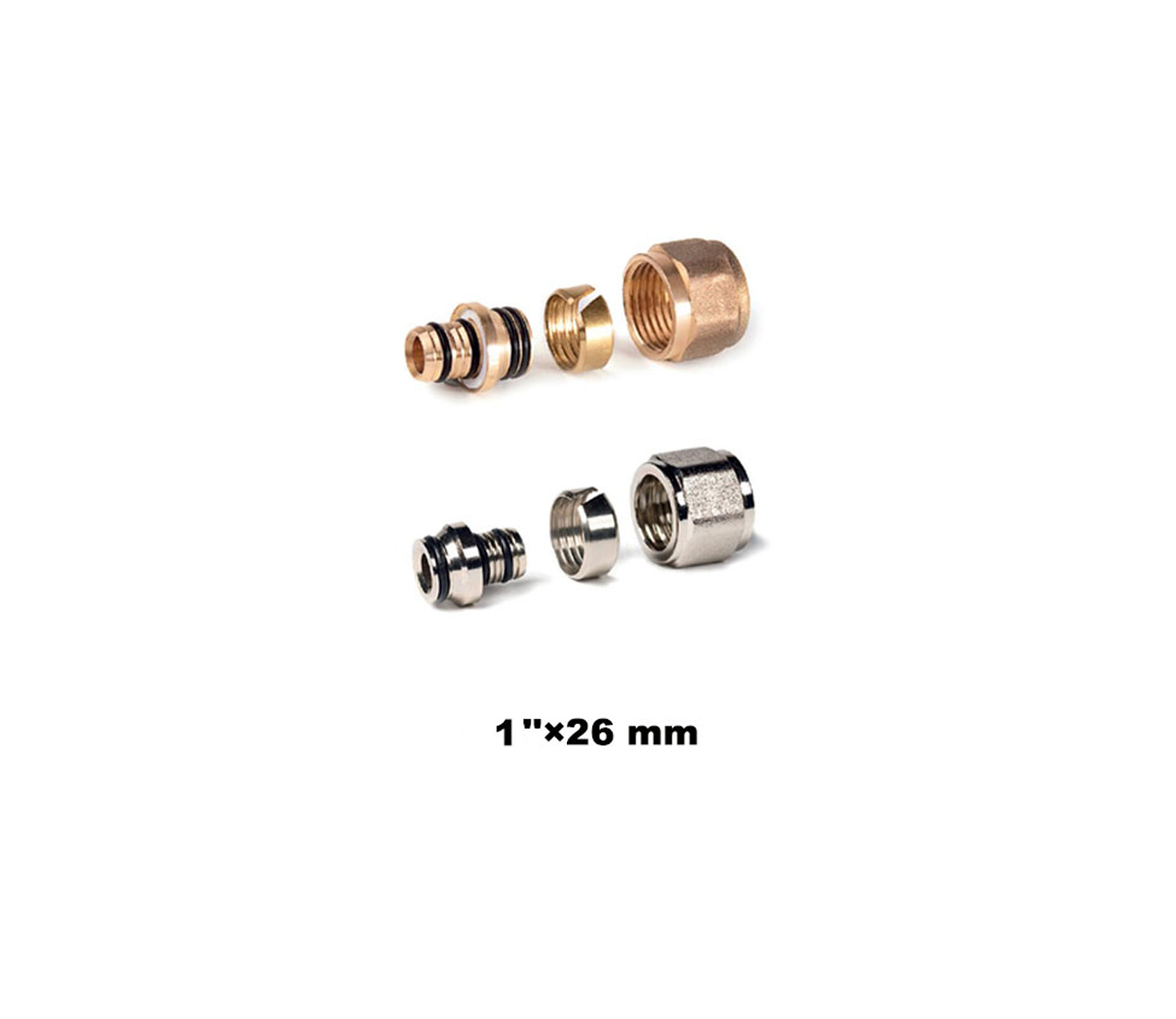 """Nut And Insert Adaptor To Copper Compression 1""""×26mm (20004)"""